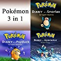Pokemon: Diaries and Unofficial Pokémon Stories, 3 in 1 Audiobook by Tagashi Takashima Narrated by John H Fehskens