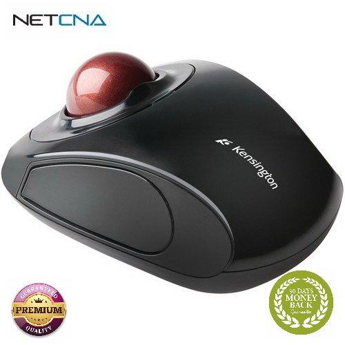 Orbit Wireless Mobile Trackball Mouse Orbit Wireless Mobile Trackball Mouse With Free 6 Feet NETCNA HDMI Cable - BY NETCNA (Orbit Wireless Mobile Trackball)