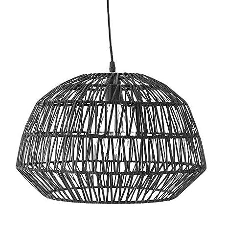 Kenay Home Clen Lámpara de Techo Decorativa, 25 W, Negro ...