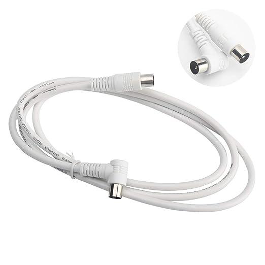 Lumpur - Cable coaxial para Antena de televisión (1,5 m ...