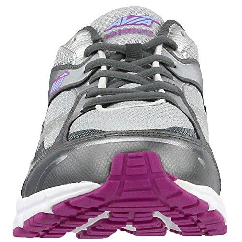 Blue Spring Grey Orchid Steel Shoe Chrome Silver Avia Women's Skyway Execute Running Grey Iron gFgPw8q