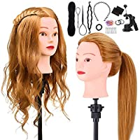 TopDirect Mannequin Head with Real Human Hair