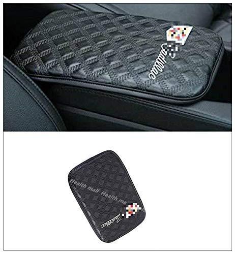 Car Armrest Cushion Bling 3D Crown Crown Armrest 3D Soft Leather Auto Center Console Pad Cover Handrail Box Universal Ergonomic Design Decoration Cushion