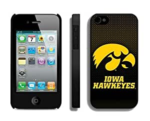 Best Cheap Iphone 4/4s Case Cover Design Ncaa Iowa Hawkeyes Mobile Accessories