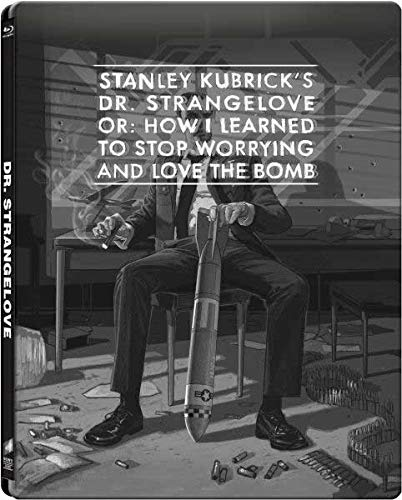 Stanley Kurbrick's Dr. Strangelove: Gallery 1988 Range Limited Edition Steelbook [Blu-ray]