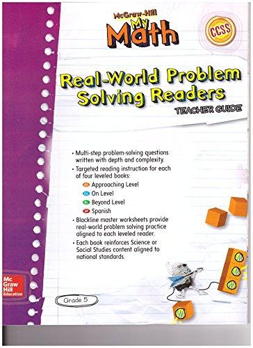 Real-World Problem Solving Readers Teachers Guide (My Math, Grade 5)