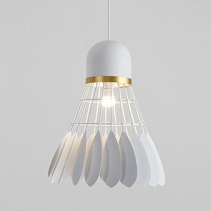 ZHP & lamparas Nordic Chandelier - Lámpara de Techo de una ...