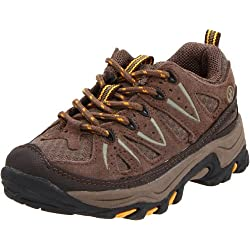 Northside Cheyenne Jr Hiking Boot (Little Kid/Big Kid),Taupe/Mango,7 M US Big Kid