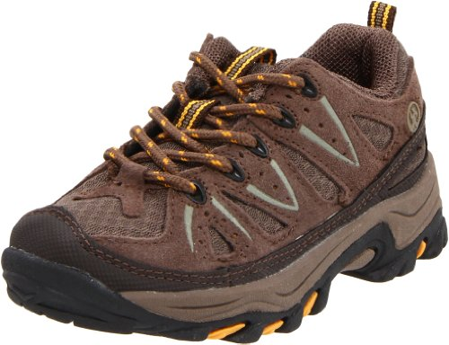 [Northside Cheyenne Jr Hiking Boot (Little Kid/Big Kid),Taupe/Mango,7 M US Big Kid] (Boots Shoes For Kids)