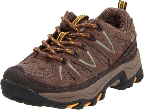 Northside Cheyenne Jr Hiking Boot (Little Kid/Big Kid),Taupe/Mango,7 M US Big Kid (Boots Shoes For Kids)