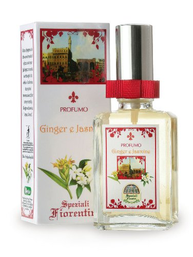 Speziali Fiorentini Eau De Parfum Spray, Ginger and Jasmine, 1.7 Ounce