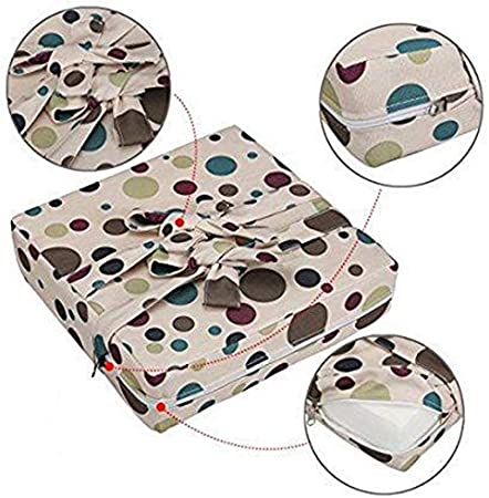 Shumo Baby Dining Chair Booster Cushion Removable Kids High Chair Seat Pad Chair Heightening Cushion Chair Seat Pram Chair Pad Beige