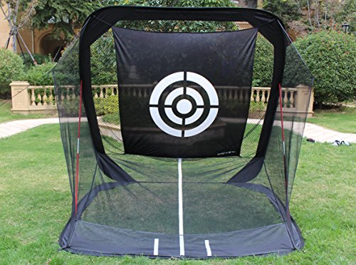 8'x7'x7' Golf net | golf hitting net |golf driving net|golf training net for indoor&outdoor |portable golf driving netting with target