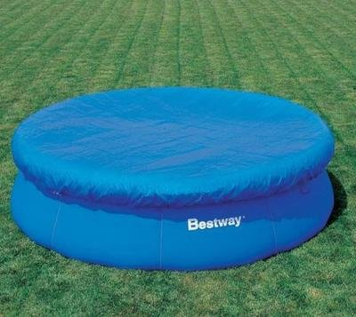 Bestway Fast Set Swimming Pool Cover For Garden / Outdoor Pools 8ft LIME SHOP A4678