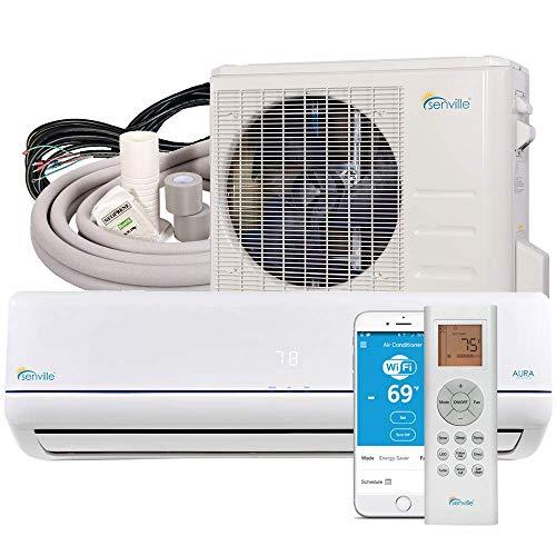 Senville Mini Split Air Conditioner Heat Pump, 36000 BTU, White