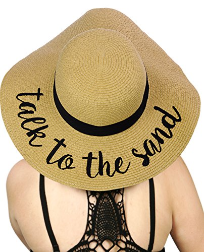 cc-womens-paper-weaved-crushable-beach-embroidered-quote-floppy-brim-sun-hat-talk-to-the-sand