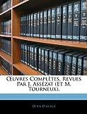Uvres Complètes, Revues Par J Assézat, Denis Diderot, 1142827658