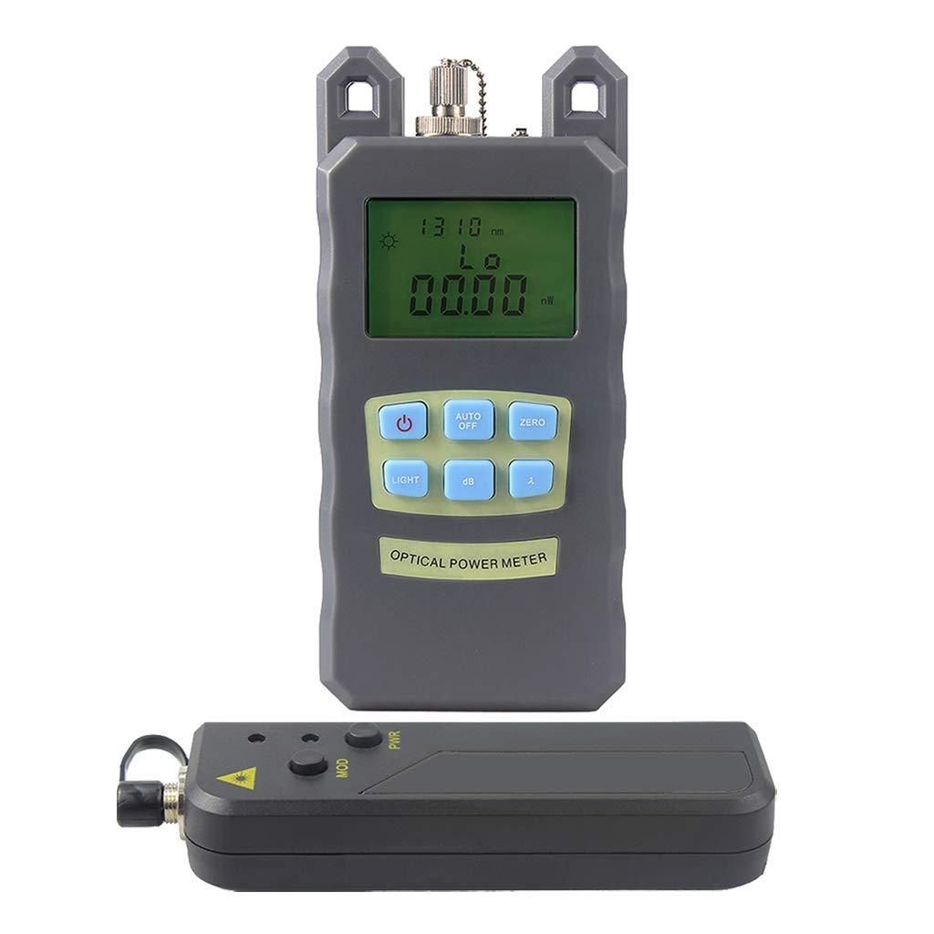 SM SunniMix 1Set -70dBm~+10dBm 850~1625nm Optical Power Meter Tester FC SC Handheld Optical Power Meter + 20mW Visual Fault Locator Pen by SM SunniMix (Image #7)