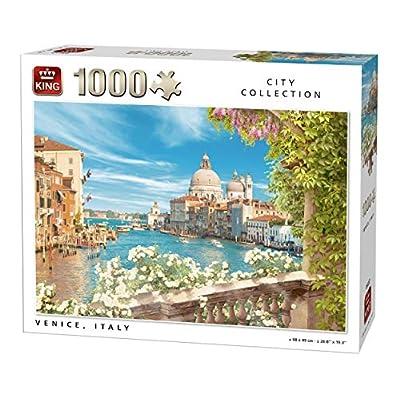 King Re 5657 Di Vista Di Venezia Citt In Italia Puzzle Da Pezzi 68 X 49 Cm