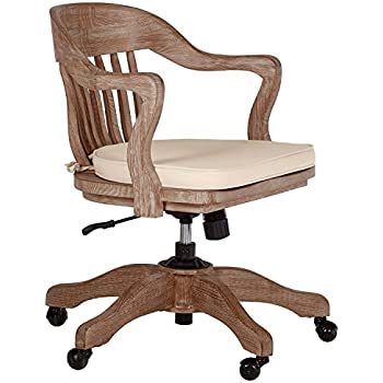 Amazon Com Office Star Deluxe Armless Wood Bankers Desk