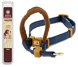 Petmate 1-Inch by 18-32-Inch Large AKC Padded Dog Halter, Blue (B001R5K8AE) | Amazon price tracker / tracking, Amazon price history charts, Amazon price watches, Amazon price drop alerts