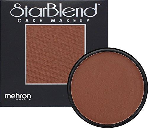[Mehron Makeup StarBlend Cake Makeup CONTOUR 2 – 2oz] (Halloween Costume Ideas 50 Shades Of Grey)