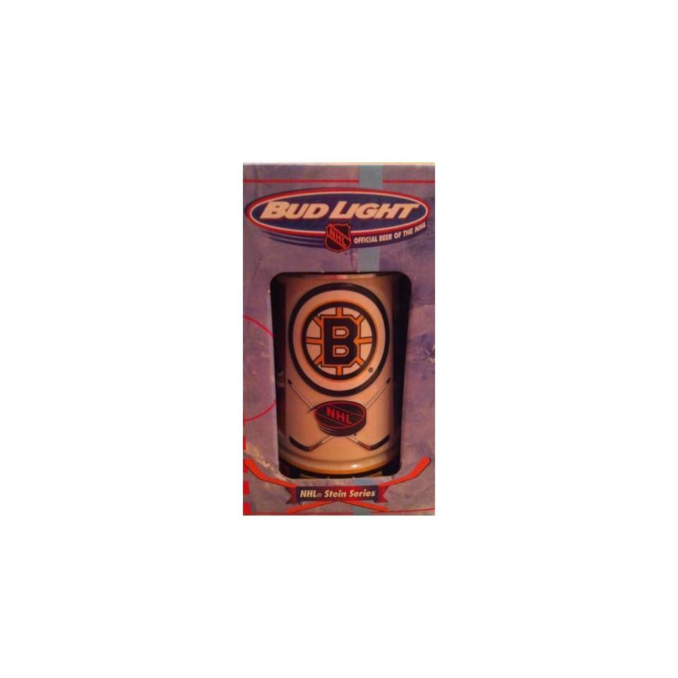 NHL   Boston Bruins 1998 Anheuser Busch Bud Light Hockey Stein
