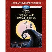 Tim Burton's The Nightmare Before Christmas - 20th Anniversary Edition (Blu-ray 3D/Blu-ray/DVD + Digital Copy) (1993)