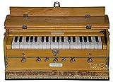 MAHARAJA Harmonium 7 Stopper - 39 Keys - Comes with Book & Bag - Tuned to A440 (PDI-ABF)