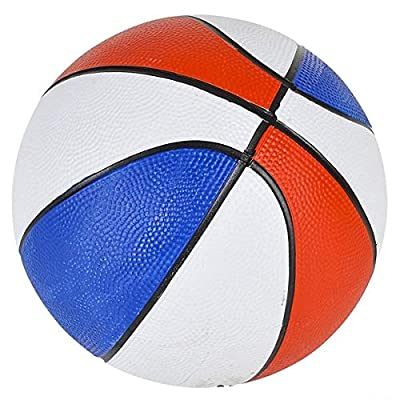 Rhode Island Novelty 7 Inch Red/White/Blue Basketball, One per Order: Sports & Outdoors