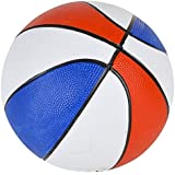 Rhode Island Novelty 7 Inch Red White & Blue Mini Basketballs, Pack of 5