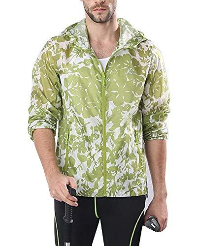 Camping Donna Verde Solare Outdoor E Abbigliamento Elodiey Uomo Giacca Impermeabile All'aperto Capispalla Traspirante Camo Giovane Da Protezione q1W1aXnwYg
