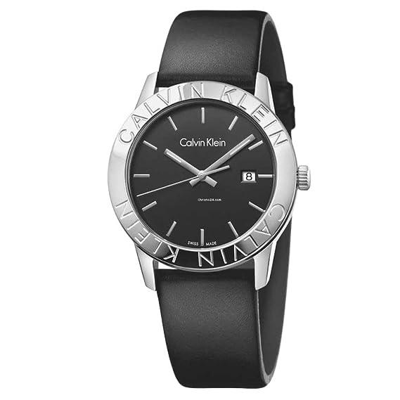 Calvin Klein steady K7Q211C1 Reloj de Pulsera para hombres Fabricado en Suiza: Amazon.es: Relojes