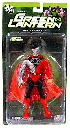 Green Lantern Series 3: Cyborg Superman Action (Cyborg Superman Costume)