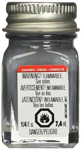 (Testors 11TT-1163 Enamel Paint Open Stock, 0.25-Ounce, Flat Battle Grey)