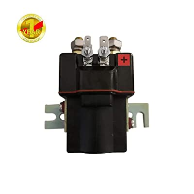 Club Car 48V, 4 Terminal Solenoid Coil | 95-Up DS and 04-08 Precedent Golf Carts - 101908701 102774701, 5722 (Solenoid): Automotive