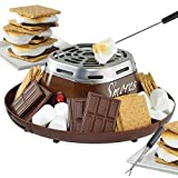 Electric S'more Maker - Recreate Campfire Treat Memories w/o Building A Fire by Nostalgia Electrics
