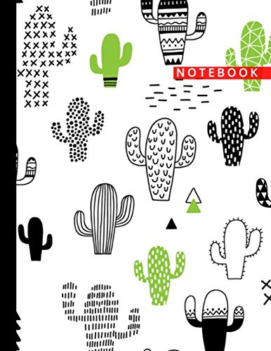 Notebook: Cute Composition College Ruled 100 Pages White Paper Interior and  Matte Luxurious Cover Journal - Perfect for School Subjects, Work, Home, Office and General Writing - Ruled Recycled Paper