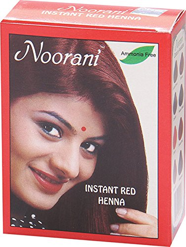 - Noorani Henna Based Hair Color and Herbal Powder in USA | Ships from California (1 ( 6 Pouch x 10g ), INSTANT RED HENNA)
