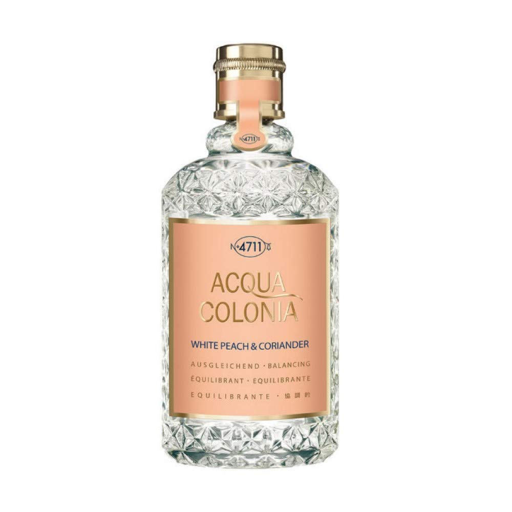 4711 Acqua Colonia White Peach & Coriander by Maurer & Wirtz 4011700745371