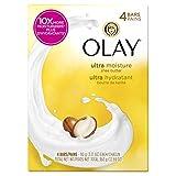 Olay Moisture Outlast Ultra Shea Butter Beauty Bar 90g, 4 Count