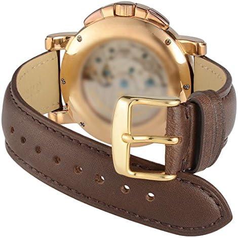 Amazon.com: WOCCI - Correa de piel para reloj, 0.551 in ...
