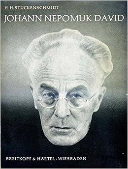 Book Johann Nepomuk David: Betrachtungen zu seinem Werk