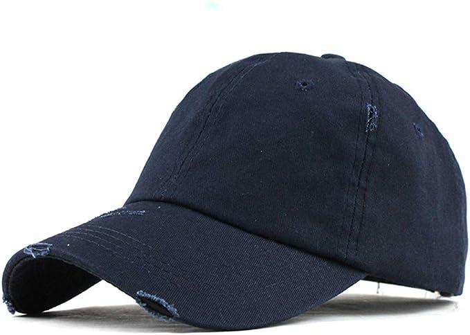 TUDUZ Unisex Sombrero Color sólido Gorra de béisbol Gorra ...