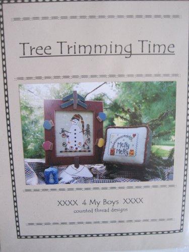 Tree Trimming Time Cross Stitch Pattern #62
