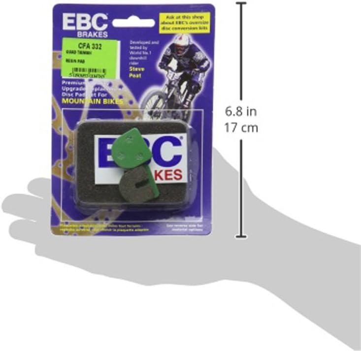 EBC Quad Taiwan Disc Brake Pads Green