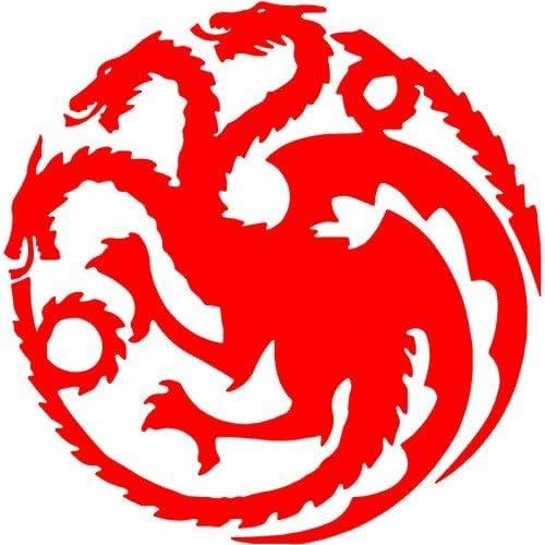 Game of Thrones Mother of Dragons Targaryen khaleesi  Logo Vinyl Sticker Decal