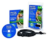 PetSafe Gentle Leader Head Collar with Training DVD, LARGE 60-130 LBS., BLACK