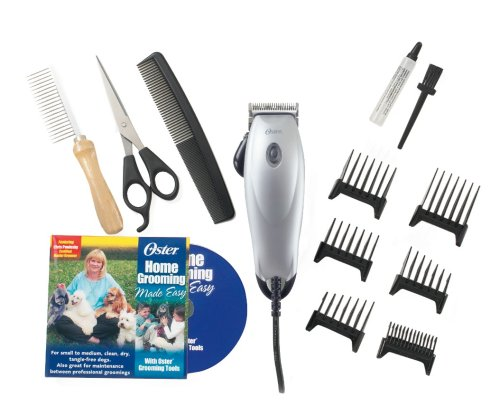 Oster Home Pet Grooming Kit, 15-Piece