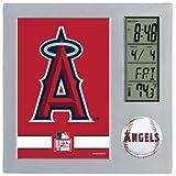 MLB Anaheim Angels Digital Desk Clock